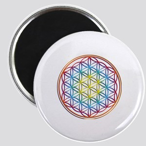 the flower of life Magnet