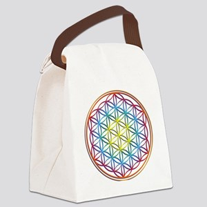 the flower of life Canvas Lunch Bag