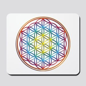 the flower of life Mousepad