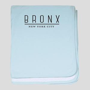 Bronx, New York City, NYC baby blanket