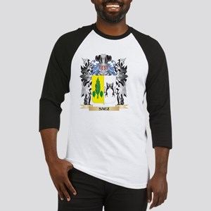Saez Coat of Arms - Family Crest Baseball Jersey
