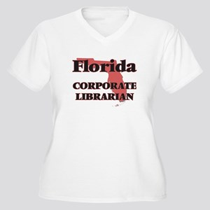 Florida Corporate Librarian Plus Size T-Shirt