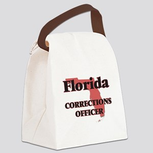 Florida Corrections Officer Canvas Lunch Bag