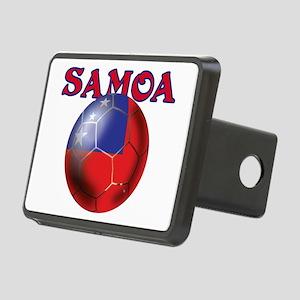 Samoa Football Rectangular Hitch Cover