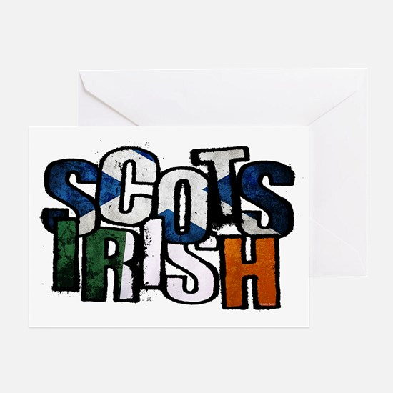 Scots Irish Greeting Card