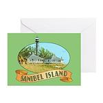 Sanibel Lighthouse - Greeting Cards (Pk of 10)