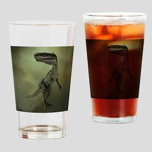 Dinosaur Monolophosaurus Drinking Glass