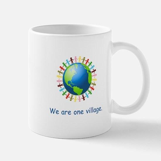 Rainbow Unity Globe Gifts Mugs