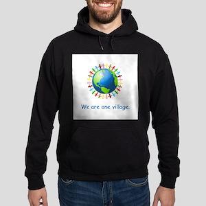 Rainbow Unity Globe Gifts Hoodie