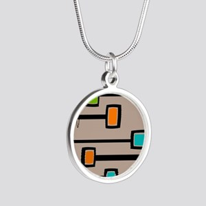 Mid-Century Abstract Art Necklaces