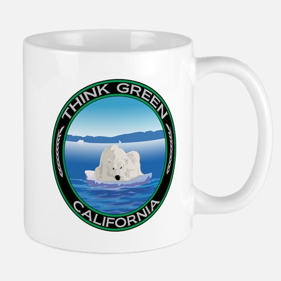 Environmental Polar Bear California Mug