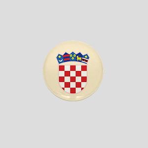 Croatia COA Mini Button