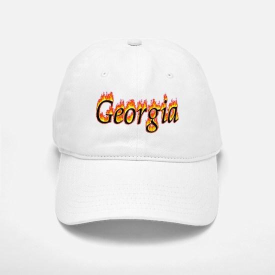 Georgia Flame Baseball Baseball Baseball Cap