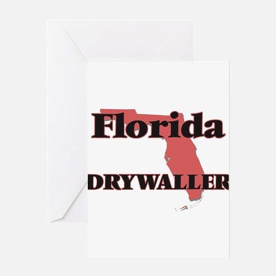 Florida Drywaller Greeting Cards
