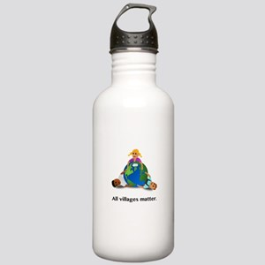All Villages Matter Earth Trio Water Bottle
