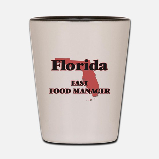 Florida Fast Food Manager Shot Glass