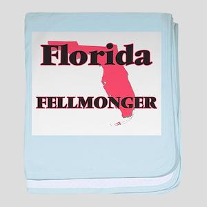 Florida Fellmonger baby blanket