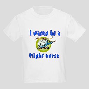 Flight Nurse Kids Light T-Shirt