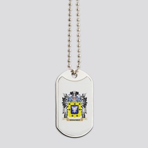 Sanchez Coat of Arms - Family Crest Dog Tags