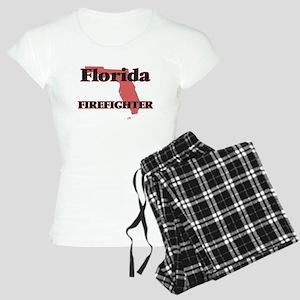 Florida Firefighter Women's Light Pajamas