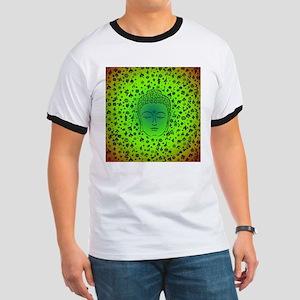 Buddha Green by designeffects T-Shirt