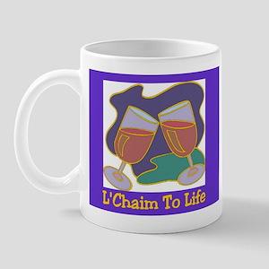 L'Chaim Jewish New Years Mug