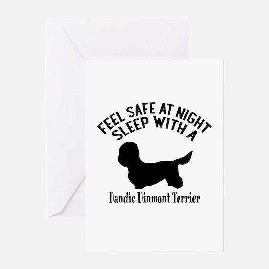 Sleep With Dandie Dinmont Terrier Do Greeting Card