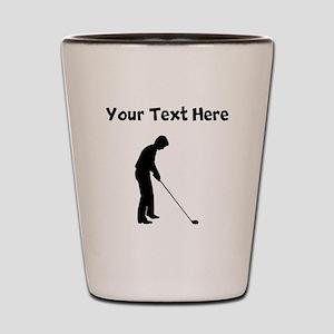 Golfer Shot Glass