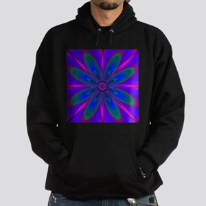 Purple Flower Hoodie (dark)