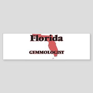 Florida Gemmologist Bumper Sticker
