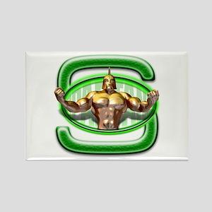 Go Spartans! Rectangle Magnet