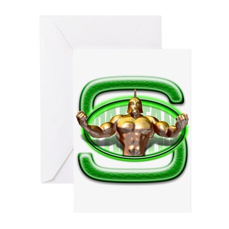 Go Spartans! Greeting Cards (Pk of 10)