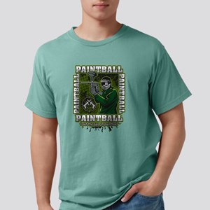 Paintball Player Green T Mens Comfort Colors Shirt