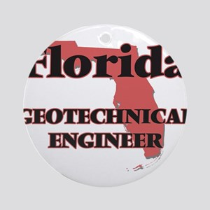 Florida Geotechnical Engineer Round Ornament