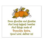 Pumpkin Spice Posters