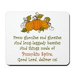Pumpkin Spice Mousepad