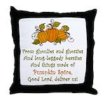 Pumpkin Spice Throw Pillow