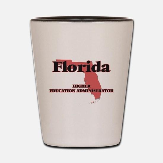 Florida Higher Education Administrator Shot Glass