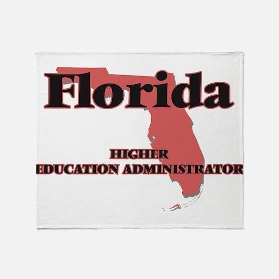 Florida Higher Education Administrat Throw Blanket