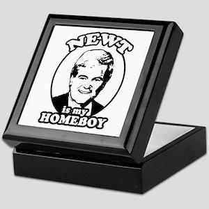 Newt for President Keepsake Box