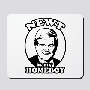 Newt for President Mousepad