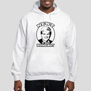 Newt for President Hooded Sweatshirt