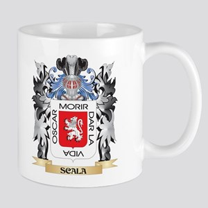 Scala Coat of Arms - Family Crest Mugs