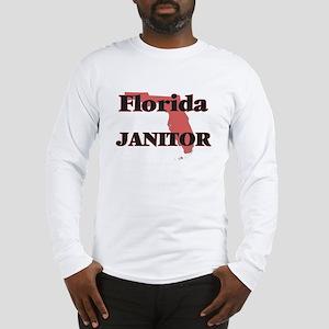 Florida Janitor Long Sleeve T-Shirt