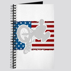 BMX American Flag Journal