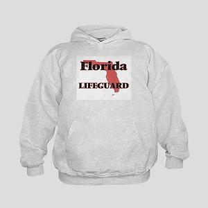 Florida Lifeguard Kids Hoodie