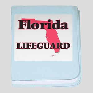Florida Lifeguard baby blanket
