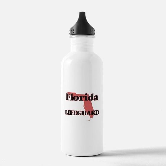 Florida Lifeguard Water Bottle