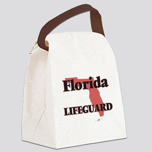 Florida Lifeguard Canvas Lunch Bag