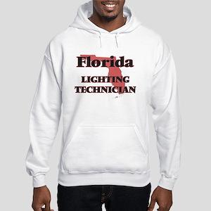 Florida Lighting Technician Hooded Sweatshirt